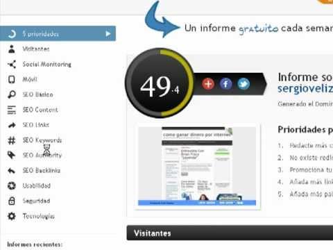 Ganar Dinero Online / Herramienta SEO Gratis Para Estudiar Tu Blog