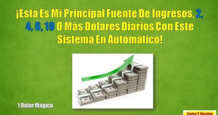 Ganar Dinero Para Paypal Desde PC - GANA $1 DOLAR UNA Y OTRA VEZ EN PILOTO AUTOMATICO