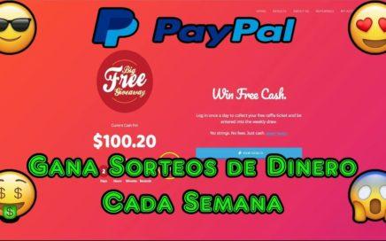 Ganar Sorteos Semanales de Dinero a Tu Paypal | Big Free GiveAway Registro y Explicacion Completa
