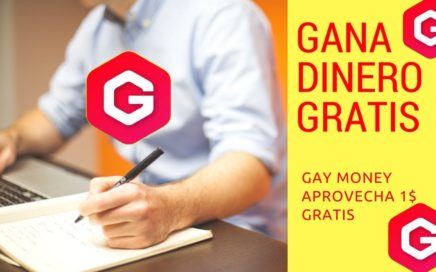 GAY Money Faucet Nueva Criptomoneda APROVECHA-Gana Dinero Por Internet Gratis + Comprobante de PAGO