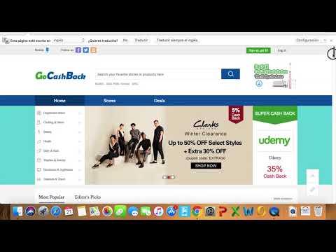 GoCashBack es SCAM o realmente Regala $5 USD por cada Registro? - Ganar Dinero por Internet