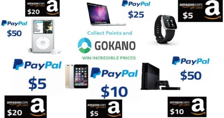 GOKANO GANA 5$ USD yº 50$ USD a PAYPAL y AMAZON GRATIS 2018