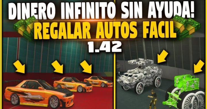 GTA V 1.42 SIN AYUDA - DINERO INFINITO O REGALAR AUTO A AMIGOS *SOLO* NUEVO AUTOS GRATIS *FUNCIONA*