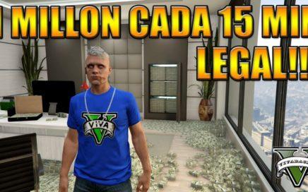 GTA V Online 1 Millón cada 15 minutos LEGAL Money Glitch