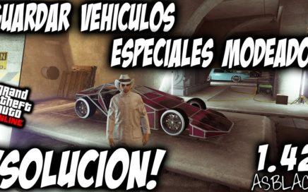 GUARDAR VEHICULOS ESPECIALES MODEADOS - *SOLUCION* - GTA 5 - RAMP BUGGY, etc - (PS4 - XBOX One)
