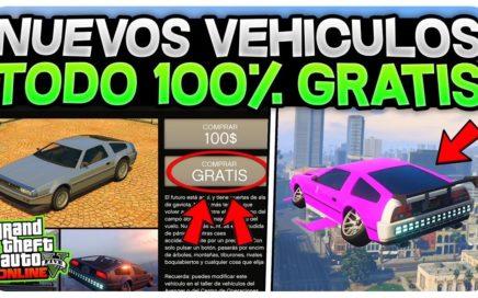 IMPRESIONANTE! *NUEVOS VEHÍCULOS GRATIS* 1.42 GTA 5 ONLINE (FÁCIL Y RÁPIDO)
