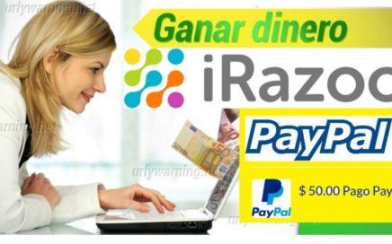 iRAZOO GANA 20$ USD y  50$ USD A PAYPAL GRATIS 2018