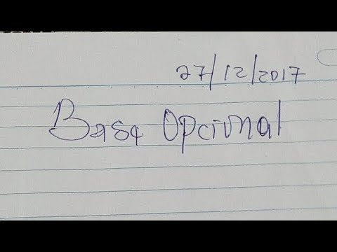 La Base Opcional De Hoy 27/12/2017