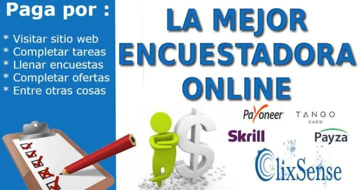 La mejor encuestadora online para ganar dinero | Primer pago
