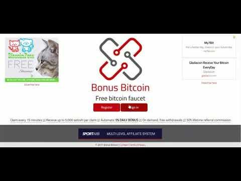 La mejor faucet para ganar bitcoins gratis - Gana cientos de satoshis todo el dia sin parar !