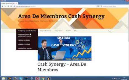 La Mejor Forma De Ganar Dinero - Cash Synergy, Gana Dinero Desde Casa Facil Y Rapido 2016