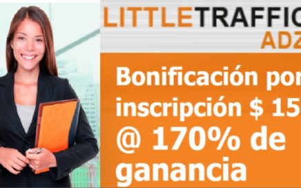 LITTLETRAFFIC ADZ -NUEVO BONO DE $15 00 GRATIS / LANZAMIENTO 5 DICIEMBRE