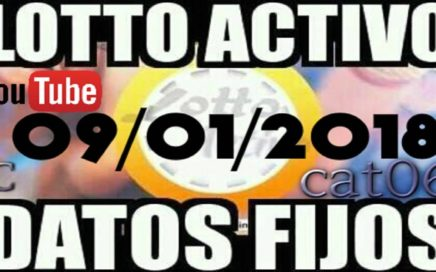 LOTTO ACTIVO DATOS FIJOS PARA GANAR  09/01/2018 cat06