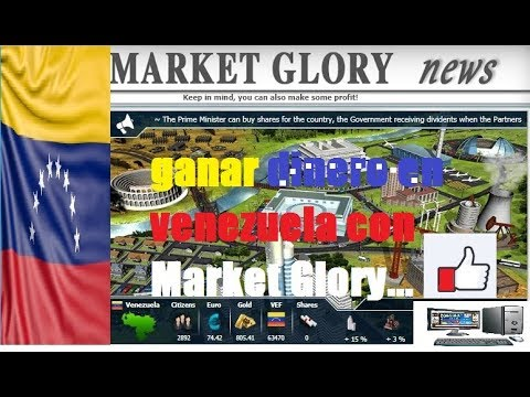 Market Glory gana dinero jugando presentacion
