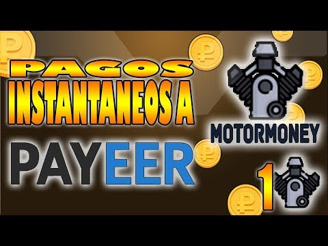 MotorMoney 1 | Gana dinero directo a Payeer | SomexUp