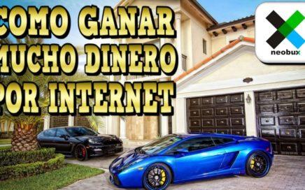 Neobux, Como Ganar Mucho Dinero por Internet Facil, Rapido, Gratis y Sin Inversion | DerrotalaCrisis