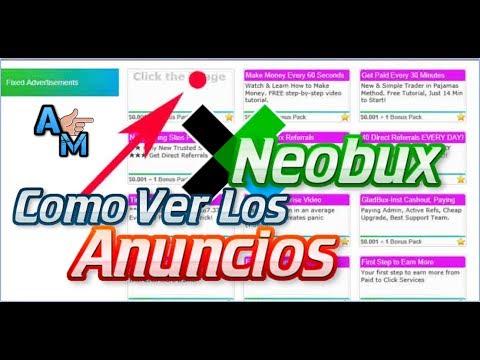 Neobux Como Ver los Anuncios | Ahora es el Momento