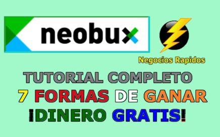 Neobux en Español Tutorial Completo 7 Formas de Ganar Dinero