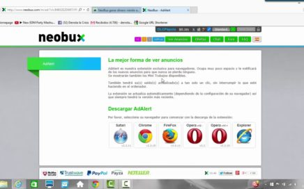 Neobux Explicacion Completa: Gana dinero por internet.