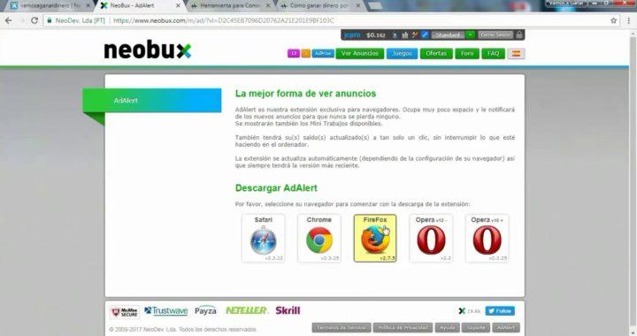 NeoBux   Gana Dinero en la Web Sin Inversión   Vamos a Ganar Dinero