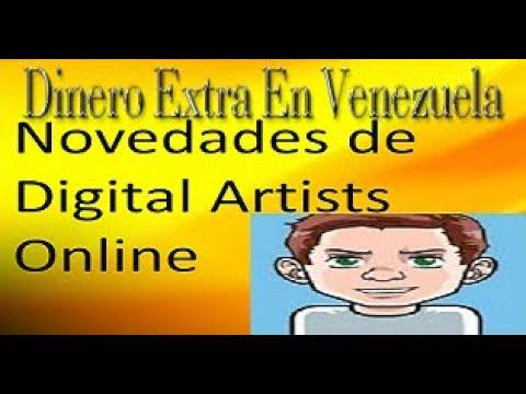 Novedades de Digital Artists Online, se ha cambiado a Bitcoin Cash | Dinero Extra En Venezuela