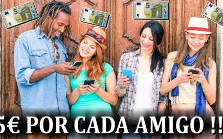 Nueva App para Ganar 5€ Gratis y 5€ por Referido | Como Ganar Dinero Gratis por Internet
