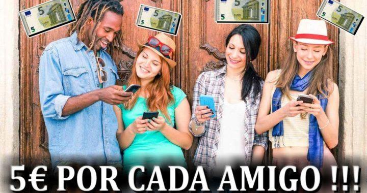 Nueva App para Ganar 5€ Gratis y 5€ por Referido   Como Ganar Dinero Gratis por Internet