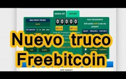 Nueva Estrategia FreeBitcoin 2018 Actualizada Enero GANA dinero y Satoshis Rapidamente
