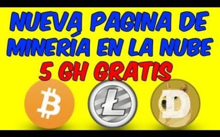 NUEVA PAGINA DE MINERIA EN LA NUBE Minar Criptomonedas Para Ganar Dinero Online