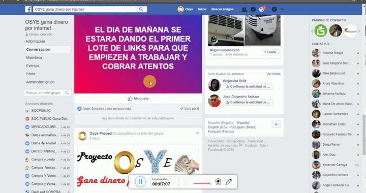 Nueva pagina OSYE como ganar 80mil bsf diarios o mas gana dinero por internet venezuela