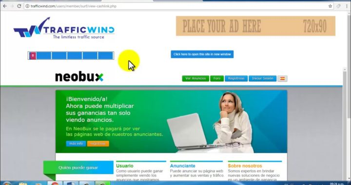 NUEVA TRAFFIC WIND / IDÉNTICA A TRAFFICMONSOON / GANA DINERO GRATIS