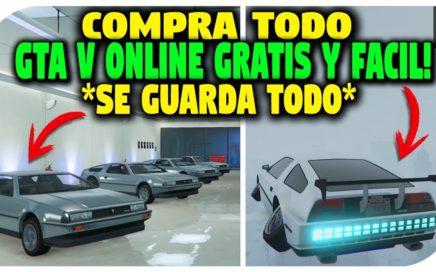 NUEVO 2018 - SIN AYUDA - GTA 5 COMPRAR TODO GRATIS SIN MAZEBANK MUY FACIL ! *SE GUARDA TODO* GTA 5