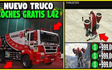 NUEVO! - AUTOS GRATIS MUY FACIL DINERO INFINITO! - GTA 5 1.42 REGALAR AUTOS A AMIGOS! *FACIL*