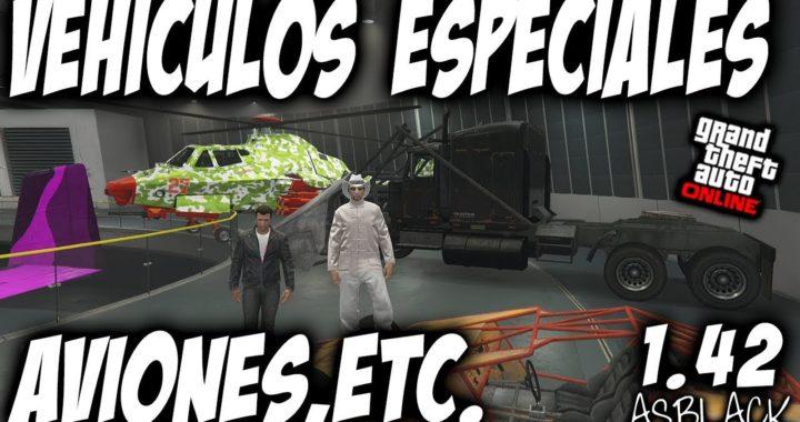*NUEVO* - AVIONES, HELICOPTEROS - VEHICULOS ESPECIALES - GTA 5 - REGALAR y GUARDAR - (PS4 - XB1)