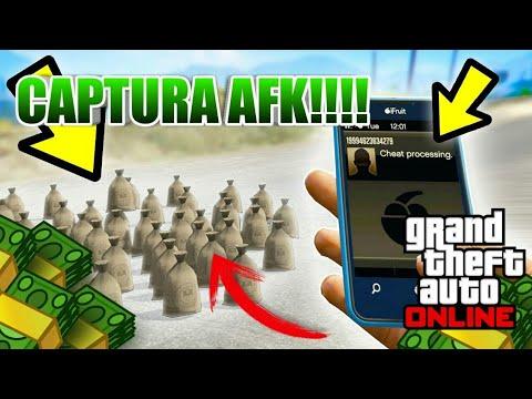 *NUEVO* CAPTURA AFK! CONSIGUE MILLONES SIN HACER NADA! GTA ONLINE 1.42