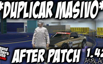 NUEVO - DUPLICAR COCHES AFTER PATCH - GTA 5 - NUEVO MÉTODO DINERO INFINITO - ASBLACK - (PS4 - XB1)