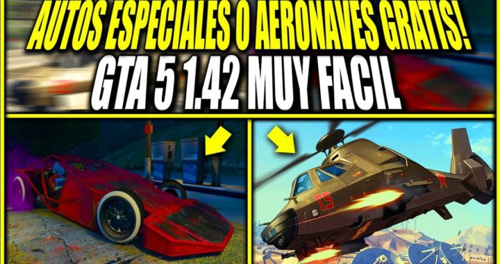 NUEVO! GUARDAR AUTOS ESPECIALES O AERONAVES TOTALMENTE GRATIS SUPER FACIL! GTA 5 FREE VEHICLES