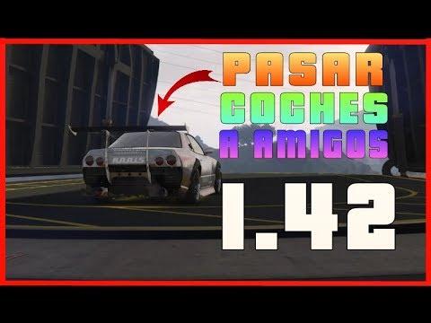 *NUEVO METODO* PASAR COCHES A AMIGOS *1.42* | GTA V ONLINE PS4