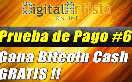 Nuevo Pago de Digital Artists Online Enero 2018, Gana Bitcoin Cash Gratis   Gokustian