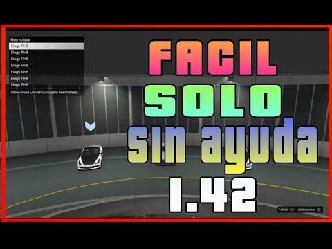 *NUEVO* SOLO SIN AYUDA *1.42* | GTA V ONLINE PS4