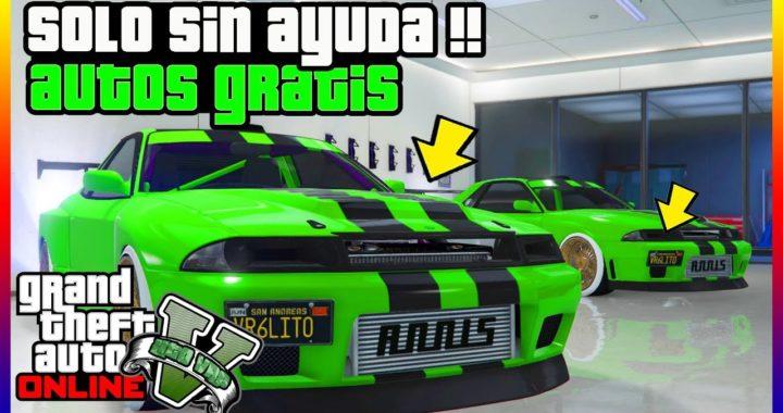 """*NUEVO* SOLO SIN AYUDA!! AUTOS GRATIS EN """"GTA V ONLINE"""" SUPER FACIL"""
