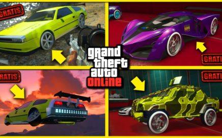 NUEVO! - TENER AUTOS GRATIS MASIVO FACIL! - GTA 5 1.42 REGALAR AUTOS BRUTAL *PS4 y XBOX ONE*