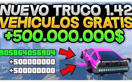 NUEVO TRUCAZO 1.42 *TODOS LOS VEHÍCULOS GRATIS!* GTA 5 ONLINE 1.42 COCHES GRATIS!