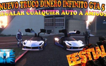 NUEVO TRUCO GTA 5 ONLINE 1 42 CONSEGUIR 1 000 000$$ CADA 20 SEGUNDOS SUPER FACIL PS4 XBOX ONE