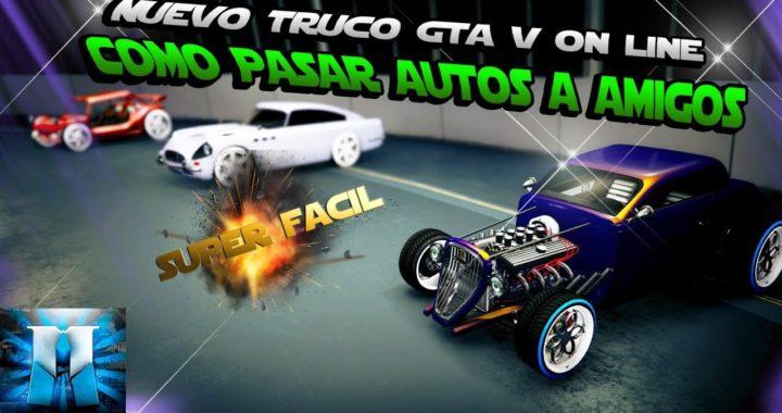 NUEVO TRUCO GTA 5 ONLINE MASIVAMENTE !SOLO SIN AYUDA! CONSEGUIR CUALQUIER TIPO DE VEHICULO GRATIS