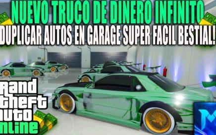 NUEVO TRUCO GTA 5 !SOLO SIN AYUDA SIN CENTRO DE OPERACIONES!DUPLICAR AUTOS MASIVAMENTE PS4 XBOX ONE