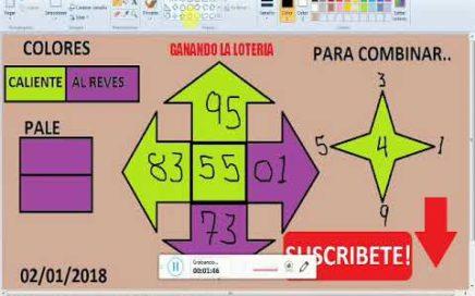 Numeros para GANAR la lOTERIA hoy 02/01/2018---JUEGA Y GANA dinero rapido en la LOTERIAS