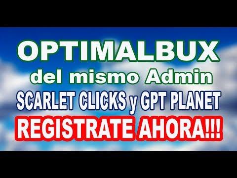 OptimalBux PTC 2018 GANA DINERO YA MISMO!!!