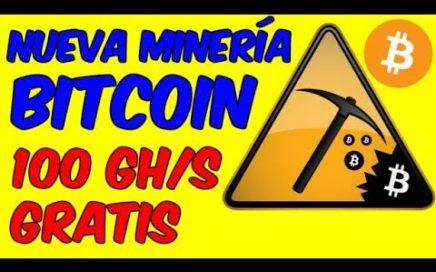 PAGINA PARA MINAR BITCOIN 100 GH Ganar Dinero Minando Bitcoin En La Nube Nueva Mineria