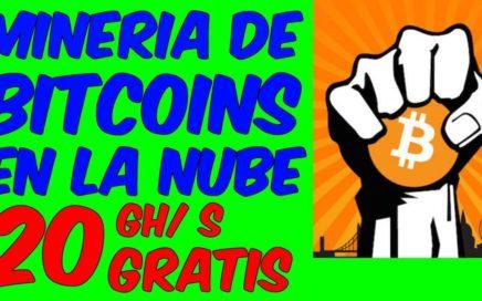 PAGINA PARA MINAR BITCOIN EN LA NUBE RAPIDO Ganar Dinero Minando Bitcoins Mineria De Criptomonedas